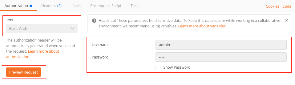 Explore the API using Postman — plone restapi 1 0a1 documentation